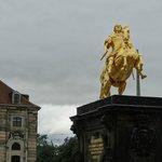 Goldener Reiter a Dresda