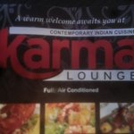 logo of karma lounge