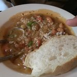 Crawfish etouffe at the Royal House Oyster Bar.  5 star Delicious!!