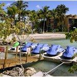 Base de jets skis à l'hôtel Canella Beach