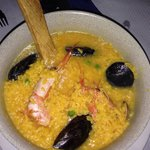 Arroz caldoso espectacular