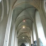 Wonderful vaulted ceiling
