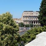 Close to the Colosseum