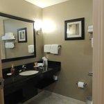 Banheiro no apartamento