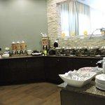 Bancada do Café da Manhã no Restaurante