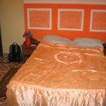 Bed in smaller room