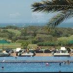 Pool, 10th fairway, and ocean