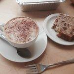 Cappuccino and Banana loaf