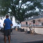 nightl free live music on the beach-front patio