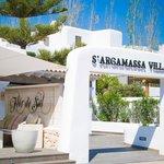 S'Argamassa villas entrance