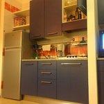 Cucina appartamento tipologia Z