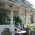 Comfortable Covered Outdoor Dining