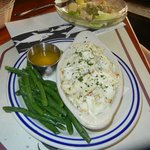 Broiled Backfin CrabMeat Dinner