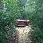 Hot tub (Writer's Cabin)