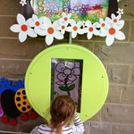 Digital flower colouring and planting