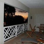 Half our balcony
