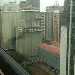 Vista para os prédios