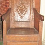 Oldest dated chair made in America 1652