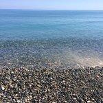 plage propre et tres chaude fin juillet