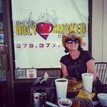 Quick trip for my birthday weekend! Gotta stop at Hails Holy BBQ :-)