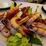 Crustacean main course