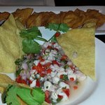 Ceviche and Wontons