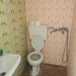 Mi è stata proposta una camera con un bagno simile.