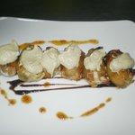 Farcallets de pato y ceps con foie