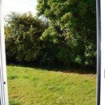 Vue de la porte fenêtre