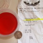 59 cent no-warning charge for a splash of vinegar