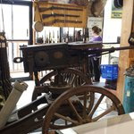Awesome historical items on display - artillery cannon