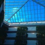 Vista central del hotel, parte superior del Capriccio Ristorante