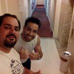 Selfie no corredor!