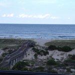 Boardwalk/beach view from balcony