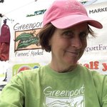 """""""Welcome to the Market"""" is the clarion call of volunteer, Joyce Murray Sullivan"""