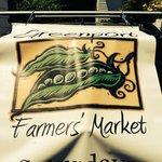 The official Greenport Farmers' Market logo!