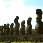"""The biggest are also the newest. Moai stands for """"to whom""""."""