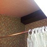 Moquette au plafond