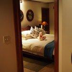 Spa Villa Bedroom #2, also with a/c