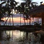 Sunset view from Humuhumu restaurant