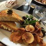 Truffle Egg Salad Sandwich