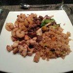 Dinning at Sensai Japanese Restaurant