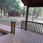 Accessible Cabin - Porch and ramp