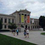 ボストン美術館入口