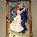 ルノワール「ブージヴァルのダンス」