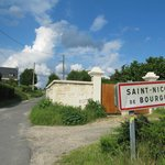 Entrance to Village Via Bike