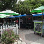 Patio area of Keylime Bistro