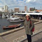 Uma visita ao porto