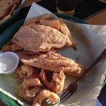 Fried Catfish and Shrimp Basket