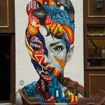 Excelente mural callejero